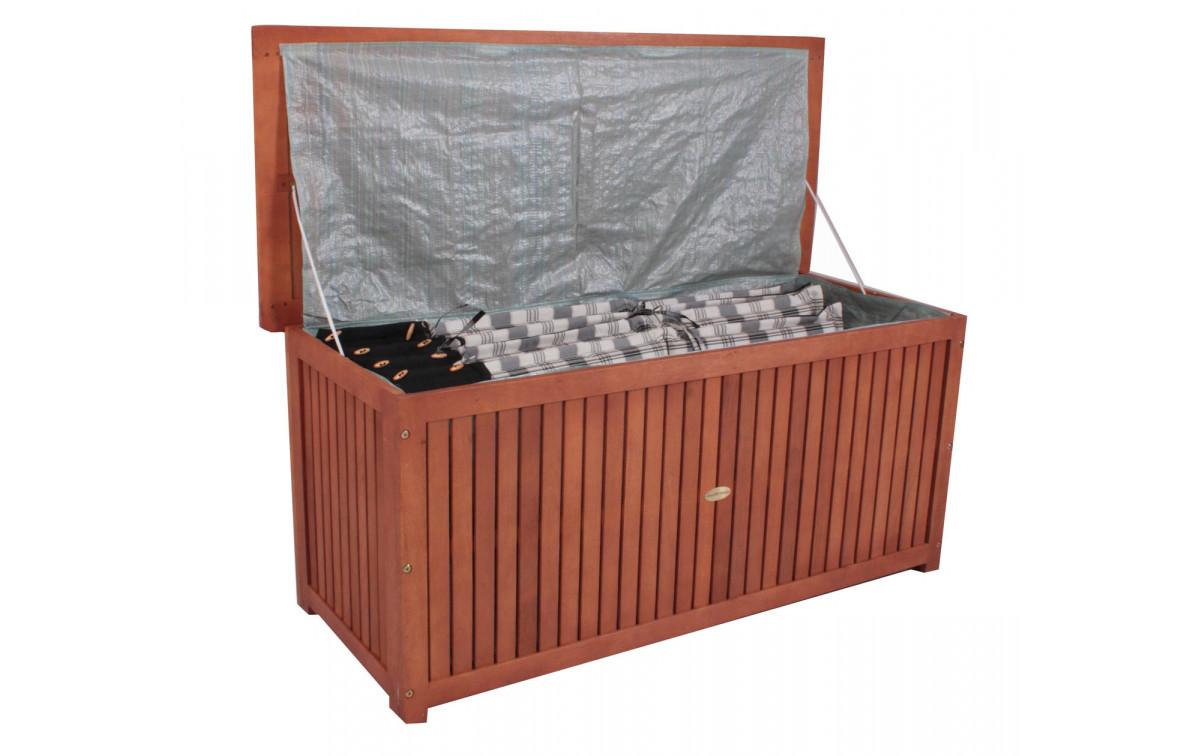 auflagenbox pierre akazienholz hartholz mix ge lt. Black Bedroom Furniture Sets. Home Design Ideas