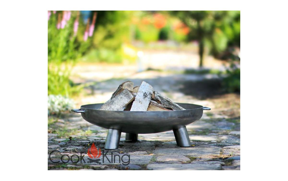 Dreibeingrill mit Feuerschale Grillrost rostfrei &Oslas