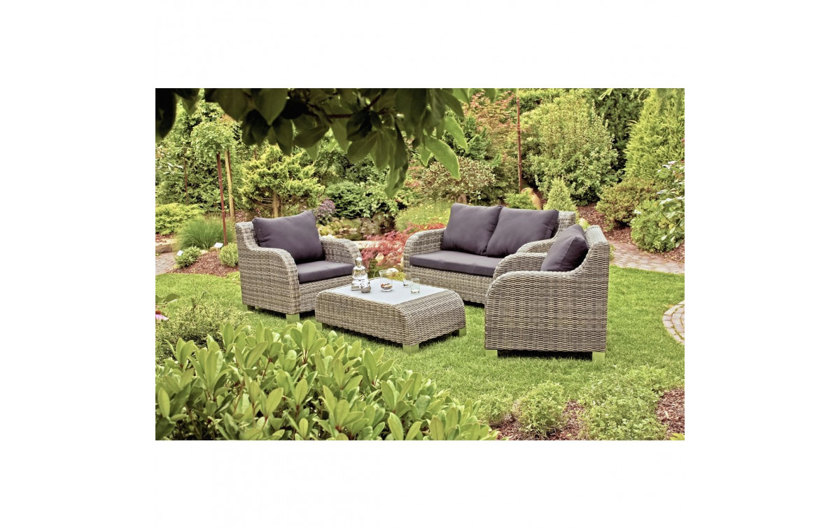 polyrattan gartenm bel set wave. Black Bedroom Furniture Sets. Home Design Ideas
