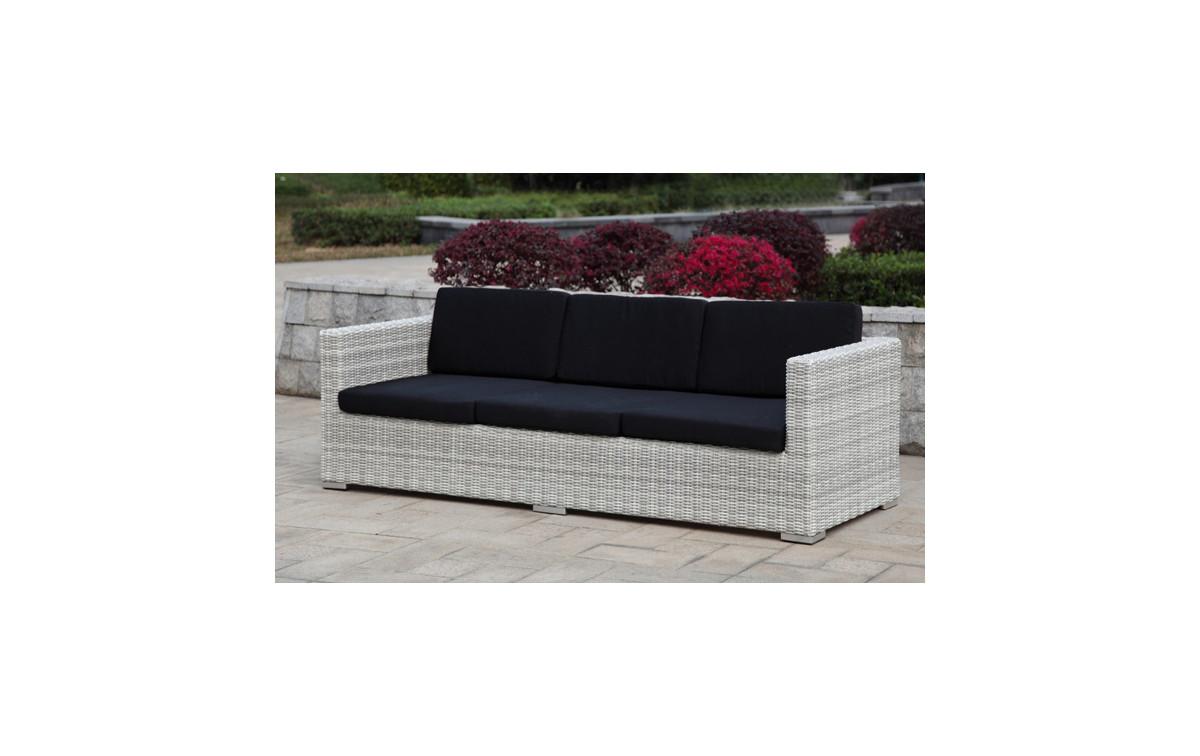 polyrattan gartensofa kuba alu kunststoffgeflecht. Black Bedroom Furniture Sets. Home Design Ideas