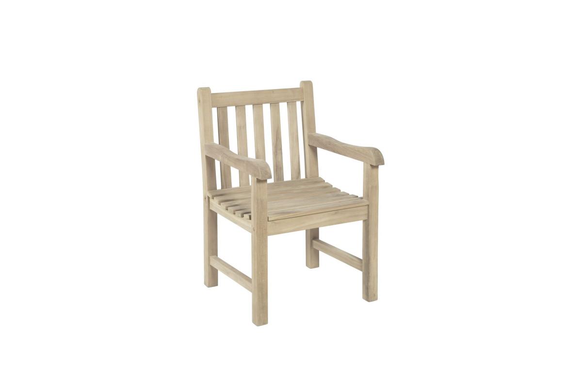 teak gartenstuhl ayolas armsessel teak b grade. Black Bedroom Furniture Sets. Home Design Ideas