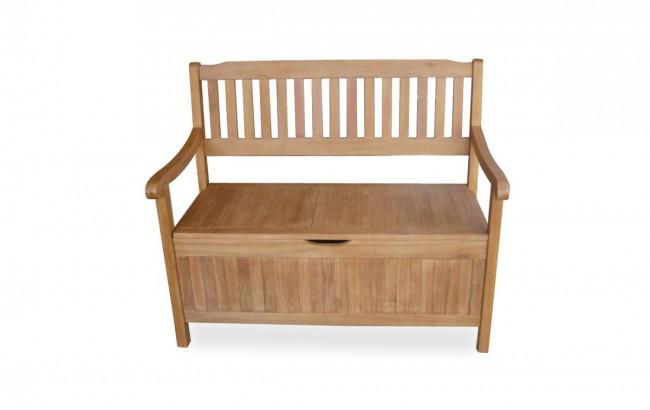 gartenbank holz mit stauraum. Black Bedroom Furniture Sets. Home Design Ideas