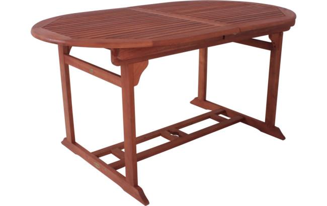 holz gartentisch salvador ausziehbar eukalyptus ge lt. Black Bedroom Furniture Sets. Home Design Ideas