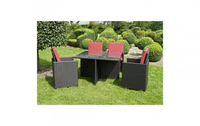 polyrattan gartenm bel set azur zum g nstigen preis. Black Bedroom Furniture Sets. Home Design Ideas