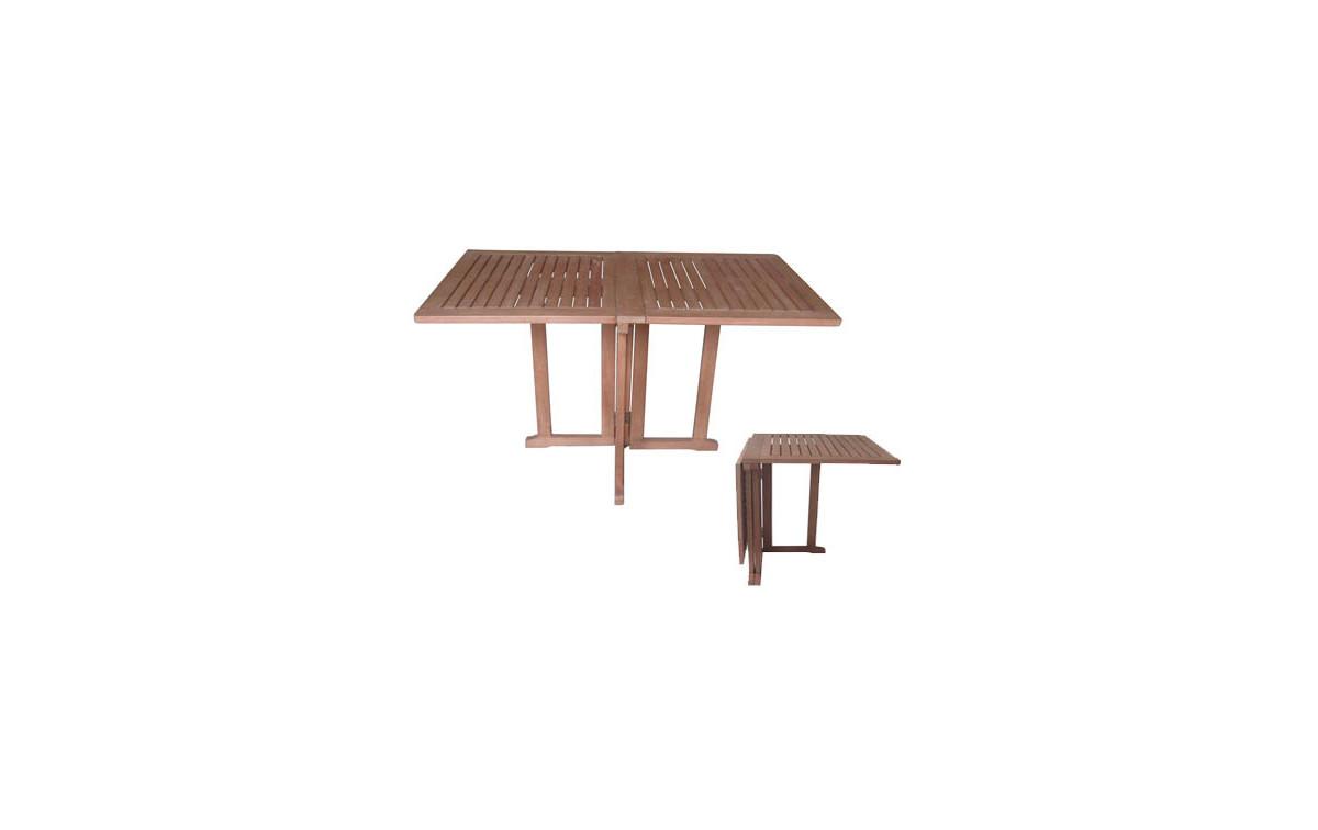 Holz Gartentisch Edgar Eckig Eukalyptus Fsc Geolt