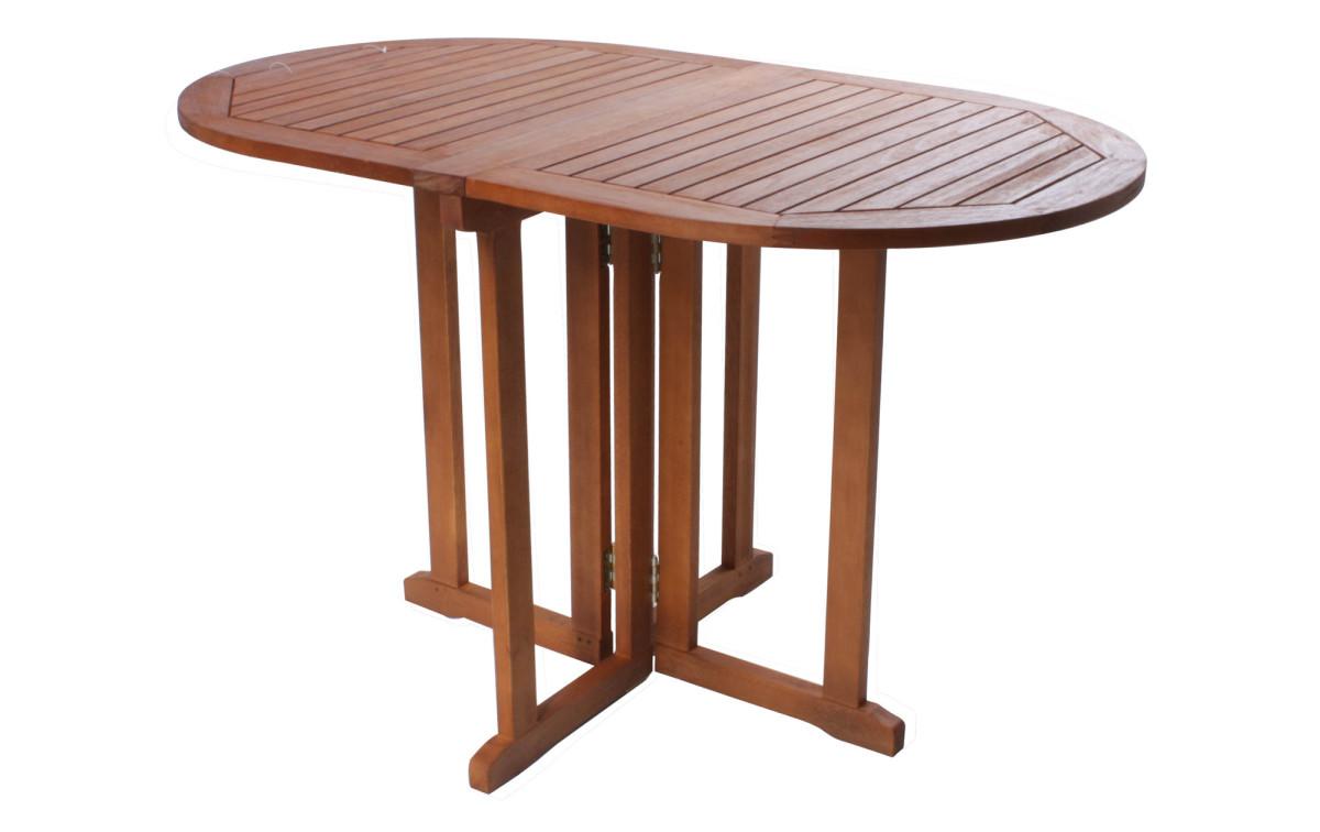 Holz Gartentisch Edgar Oval Eukalyptus Fsc Geolt