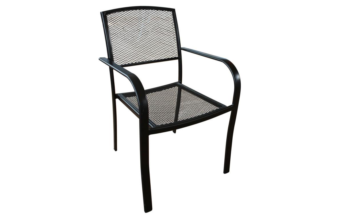 Gartenstühle metall  Metall Gartenstuhl Lara - Metall, Textilene