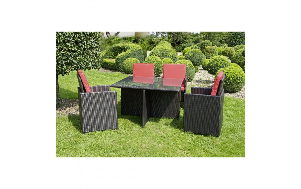 polyrattan gartenm bel set azur zum g nstigen preis gartenmoebel. Black Bedroom Furniture Sets. Home Design Ideas