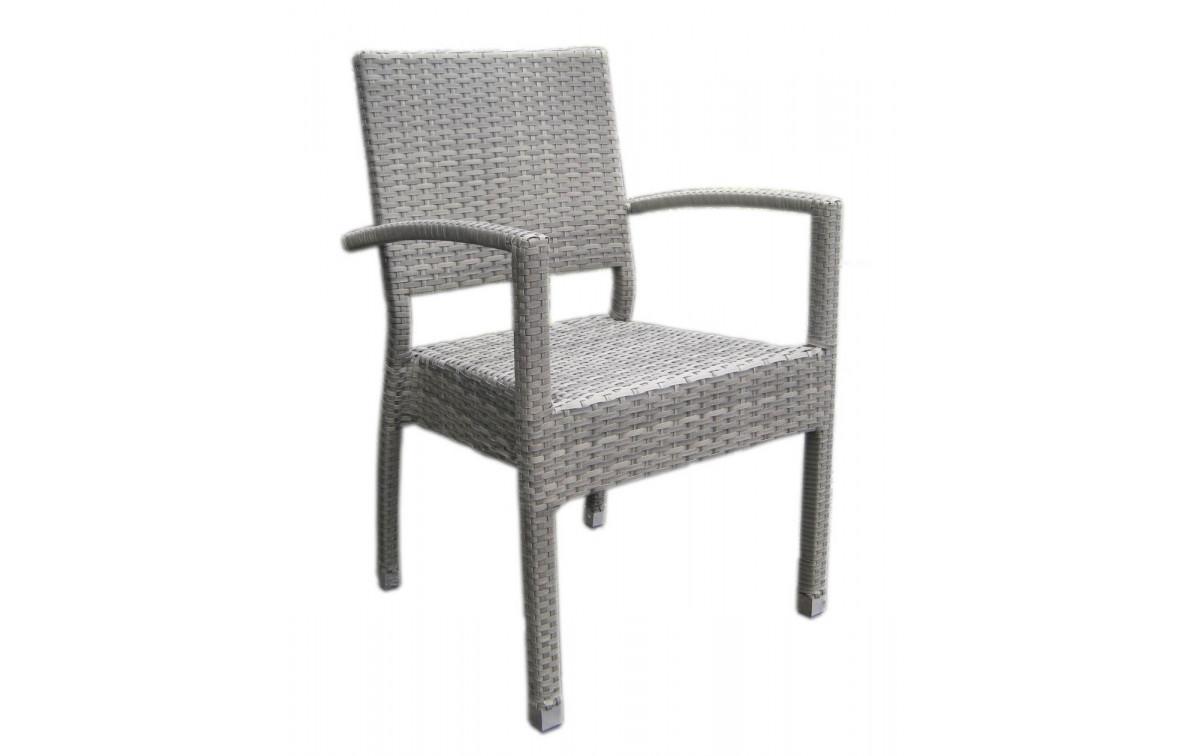 polyrattan gartenstuhl janka alu kunststoffgeflecht. Black Bedroom Furniture Sets. Home Design Ideas