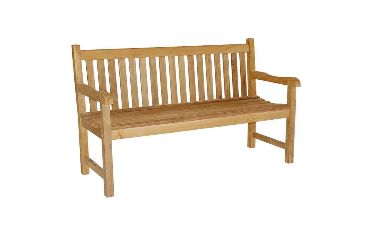 Teak Gartenbank Ayolas 3 Sitzer