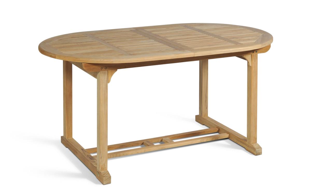 Teak Gartentisch Ayolas M (oval, ausziehbar) - zum günstigen Preis ...