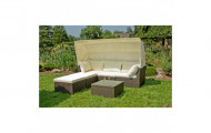 Lounge-Sofa Set Balthasar coffee