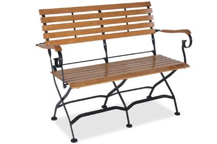 Immer Der Optimale Sitzkomfort Mit Der Gartenbank Aus Metall Und