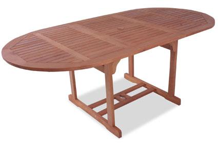 Gartentisch ausziehbar holz  Der klassische Gartentisch aus Holz - Gartenmöbel-24