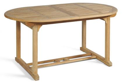 am teak tisch und teakholz tisch die sommersaison genie en. Black Bedroom Furniture Sets. Home Design Ideas